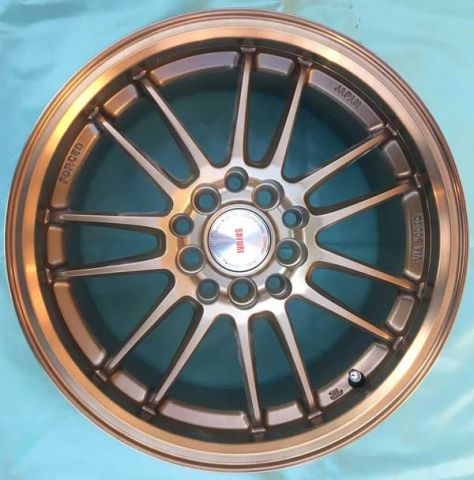 17 INCH ALLOY WHEEL (ONE SET) TD651-17