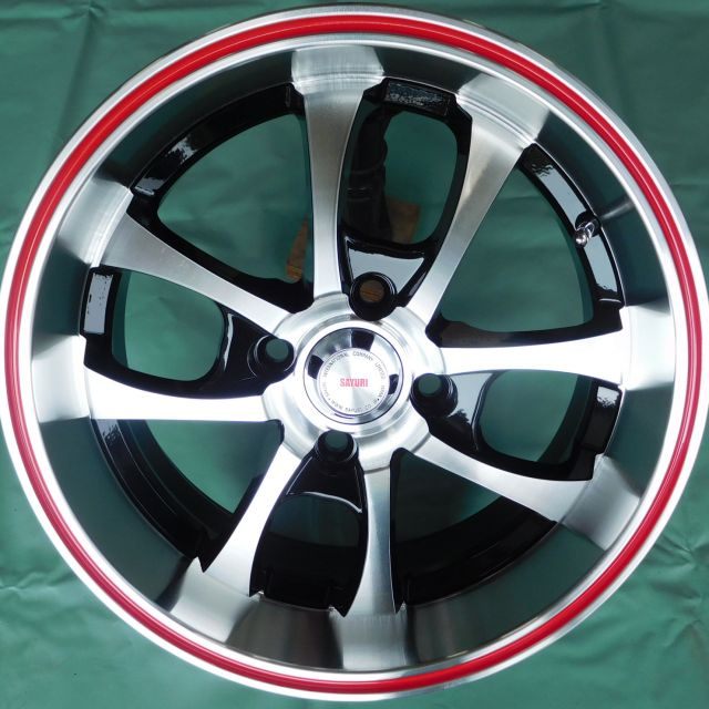 15 INCH ALLOY WHEEL (ONE SET) TD507