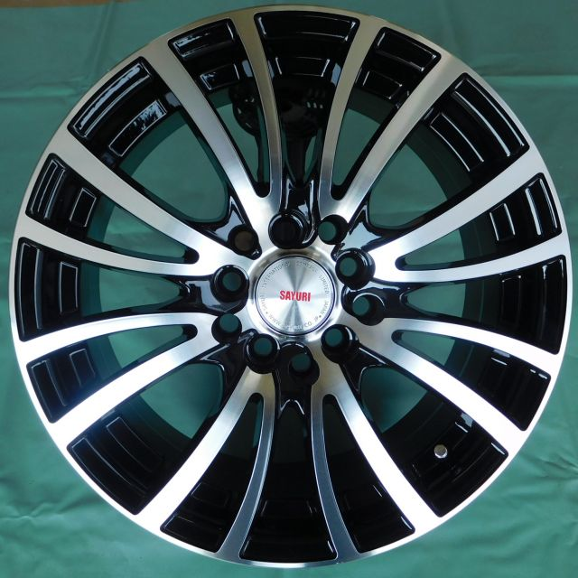15 INCH ALLOY WHEEL (ONE SET) TD589-B15
